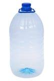 Botellas grandes una de agua (trayectoria de recortes) Imágenes de archivo libres de regalías