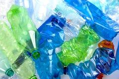 Botellas plásticas fotos de archivo libres de regalías