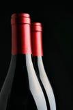 Botellas tapadas con corcho Foto de archivo libre de regalías