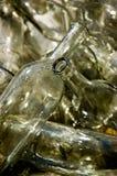 Botellas vacías Imagenes de archivo
