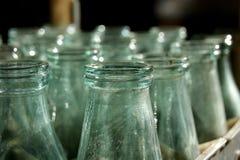 Botellas vacías fotos de archivo libres de regalías