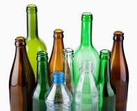 Botellas vacías Fotografía de archivo libre de regalías