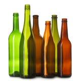 Botellas vacías Imagen de archivo libre de regalías