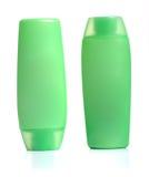 Botellas verdes del apretón Imagenes de archivo