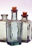 Botellas viejas Fotografía de archivo libre de regalías
