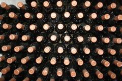 Botellas viejas de vid foto de archivo libre de regalías