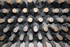 Botellas viejas de vid imágenes de archivo libres de regalías