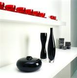Botellas y tazas de cerámica Imagen de archivo libre de regalías