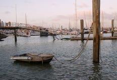 Boten bij Hervey Baai, Australië Royalty-vrije Stock Afbeelding