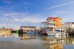 Boten bij jachthaven-2 Royalty-vrije Stock Foto
