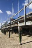 Boten bij southend-op-Overzees, Essex, Engeland Royalty-vrije Stock Foto's