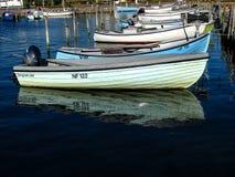 Boten in de haven royalty-vrije stock foto