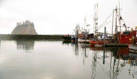 Boten de Overzeese Vreedzame Oceaanjachthaven van Bluffs Royalty-vrije Stock Afbeelding