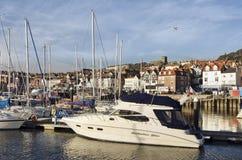 Boten in de zeehaven Royalty-vrije Stock Afbeeldingen