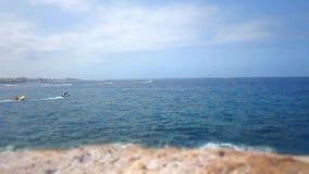 Boten en Overzees - Tenerife stock video