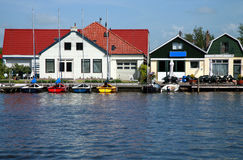 Boten - Friesland Royalty-vrije Stock Fotografie
