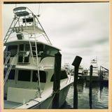 Boten in haven, Destin, Florida stock foto