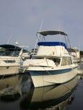 Boten in Jachthaven Royalty-vrije Stock Afbeeldingen