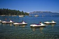 Boten, Meer Tahoe Californië royalty-vrije stock afbeeldingen
