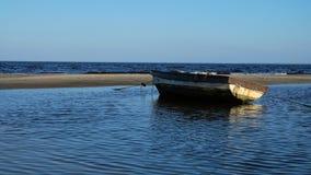 Boten op de kust Stock Fotografie