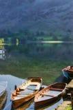 Boten op Meer Ullswater Royalty-vrije Stock Fotografie