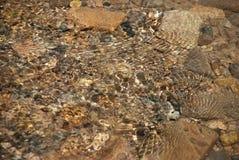 Texture bevattnar Royaltyfri Fotografi
