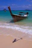 Boten van de het eiland de lange staart van PhiPhi Royalty-vrije Stock Foto's