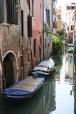 Boten in Venetië Stock Fotografie