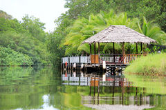 Botenhuis in Costa Rica Royalty-vrije Stock Afbeelding