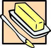Boter stock illustratie