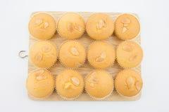 Boter cupcake Stock Afbeeldingen