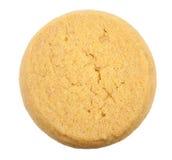 Boter geïsoleerdeg koekjes Royalty-vrije Stock Foto
