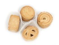 Boter koekjes Royalty-vrije Stock Foto