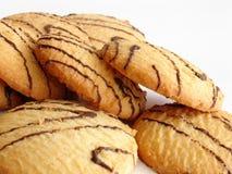Boter koekjes royalty-vrije stock afbeelding