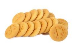 Boter koekjes Royalty-vrije Stock Foto's