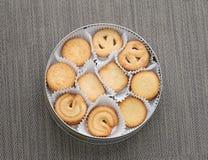 Boter koekjes Stock Foto