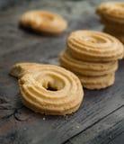 Boter koekjes Royalty-vrije Stock Afbeeldingen