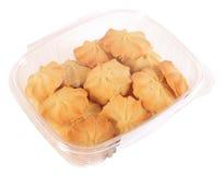 Boter koekjes. Geïsoleerde Royalty-vrije Stock Foto