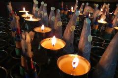 Boter lampen Royalty-vrije Stock Afbeeldingen