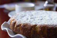 Botercake met suikerschil Royalty-vrije Stock Afbeelding