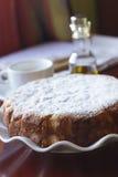 Botercake met suikerschil Stock Afbeeldingen