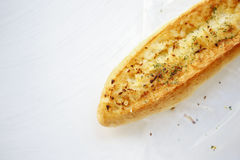 Boterknoflookbrood Stock Afbeelding