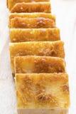Boterkokosnoot Mochi Stock Afbeelding
