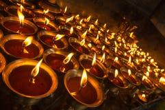 Boterlampen Stock Afbeelding