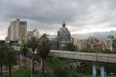 Botero kwadrat w Medellin Kolumbia fotografia royalty free
