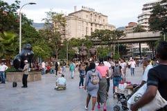 Botero Plaza in Medellin Royalty Free Stock Images