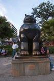 Botero Plaza in Medellin Stock Photos