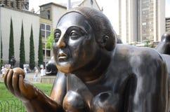 Botero skulptur Arkivbild