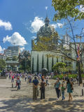 Botero Square in Medellin Colombia Stock Image