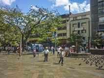 Botero Square in Medellin Colombia Royalty Free Stock Photos